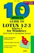 10 Minute Guide to Lotus 1-2-3 for Windows - Peter G. Aitken - Paperback