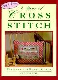 Year of Cross-Stitch: Patterns for Every Season - Jodie Davis - Hardcover