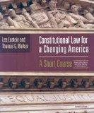 Constitutional Law for Changing America: A Short Course