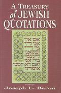 Treasury of Jewish Quotations