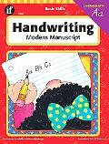 Handwriting, Modern Manuscript