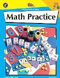 Math Practice, Grade 7-8