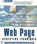 Web Page Scripting Techniques