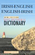 Easy Reference Irish-English English-Irish Dictionary/Focloir Gaeilge/Bearla Bearla/Gaeilge