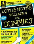 Lotus Notes Release 4 for Dummies - Stephen Londergan - Paperback