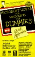 Microsoft Works for Windows 95 for Dummies Quick Reference - Stuart J. Stuple - Paperback