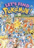 Let's Find Pokemon, Vol. 1 - Kazunori Aihara - Hardcover - ACTIVITY