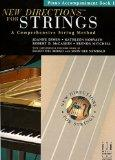 New Directions for Strings Piano Accompaniment Book 1