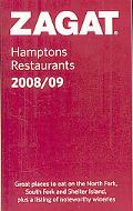 Zagat Hamptons Restaurants 2008-2009