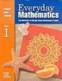 Everyday Mathematics: Student Math Journal 2001 Grade 3 Volume 1