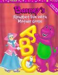 Barney's Alphabet Fun With Mother Goose A Dono-Mite Activity Pad