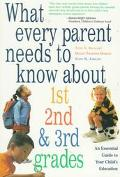 What Every Parent Needs to Know About 1st, 2nd & 3rd Grades An Essential Guide to Your Child...