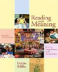 Reading With Meaning Teaching Comprehension in the Primary Grades