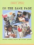 On the Same Page Shared Reading Beyond the Primary Grades