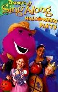 Barney's Sing along Halloween Party with Book