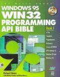Windows 95 WIN32 Programming API Bible - Richard J. Simon - Paperback