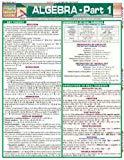 Algebra, Part 1 (Quick Study Academic)