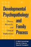 Developmental Psychopathology and Family Process Theory Research and Clinical Implications