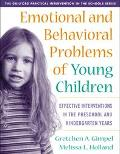 Emotional and Behavioral Problems of Young Children Effective Interventions in the Preschool...
