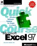 Quick Course in Microsoft Excel 97