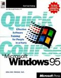 Quick Course in Microsoft Windows 95