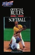 Official Rules of Softball - Amateur Softball Association - Paperback