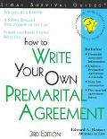 How to Write Your Own Premarital Agreement With Forms
