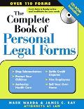 Complete Book Of Personal Legal Forms (+ CD-ROM)