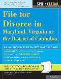 File for Divorce in Maryland, Virginia, and the District of Columbia