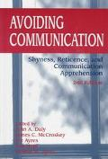 Avoiding Communication Shyness, Reticence, and Communication Apprehension