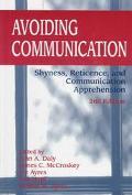 Avoiding Communication Shyness, Reticence, and Communication Apprehension