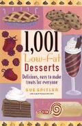 1001 Low-Fat Desserts - Sue Spitler - Paperback - 1st Edition