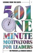 Lessons from the Cloth 501 One Minute Motivators for Leaders