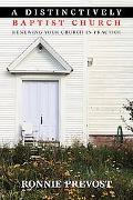 A Distinctively Baptist Church