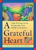 Grateful Heart Daily Blessings for the Evening Meal from Buddha to the Beatles