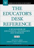 Educator's Desk Reference A Sourcebook of Educational Information and Research