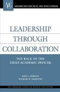 Leadership Through Collaboration The Role of the Chief Academic Officer