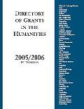 Directory Of Grants In The Humanities, 2005/2006