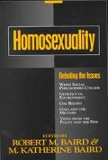 Homosexuality Debating the Issues