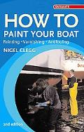 How to Paint Your Boat Painting - Varnishing - Antifouling
