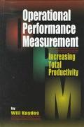 Operational Performance Measurement Increasing Total Productivity