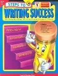Steps to Writing Success Level 1 28 Step-By-Step Writing Project Lessons Plans