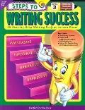 Steps to Writing Success Level 3 28 Step-By-Step Writing Project Lesson Plans