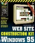 Web Site Construction Kit for Windows 95 - Christopher L. Brown - Paperback