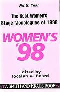 Best Women's Stage Monologues of 1998