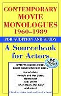 Contemporary Movie Monologues A Sourcebook for Actors