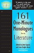 60 Seconds to Shine 221 One-minute Monologues from Literature