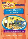 How Rude! Handbook Of Family Manners For Teens Avoiding Strife in Family Life