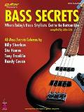 Bass Secrets Where Today's Bass Stylists Get to the Bottom Line