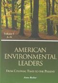 American Environmental Leaders: From Colonial Times to the Present - Anne Becher - Library B...